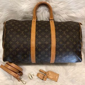Authentic Louis Vuitton Keepall 45 #7.3G